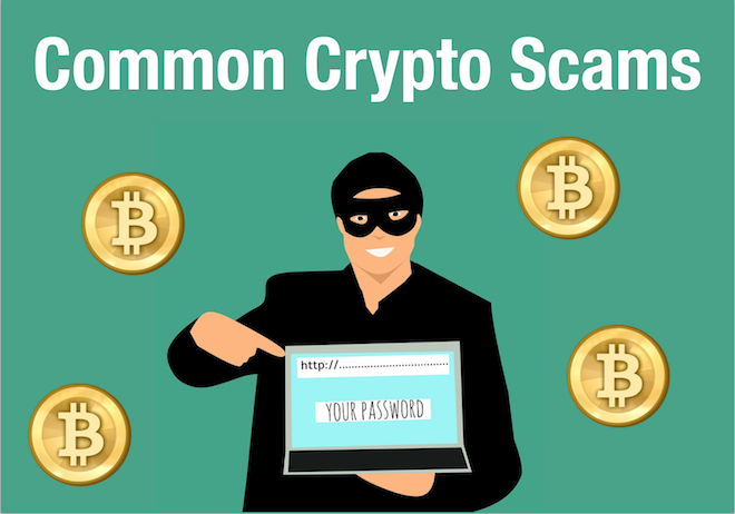 Common Cryptocurrency Scams And How To Avoid Them!