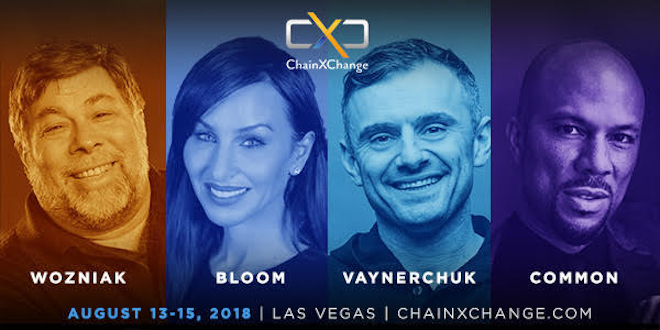 Join me at ChainXChange, the blockchain conference in Las Vegas, Nevada!