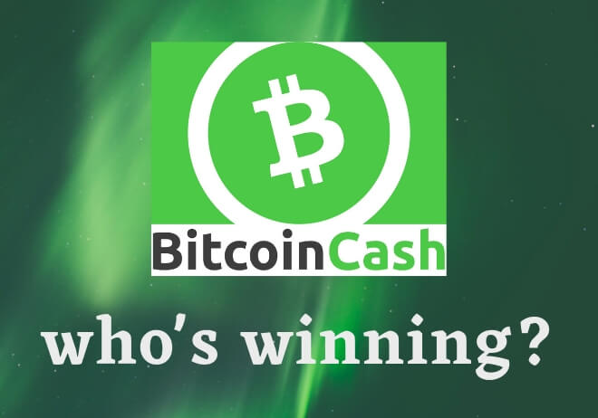 Bitcoin Cash hard fork update! Who's winning – BCH ABC or BCH SV?